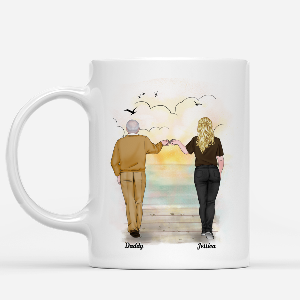 Personalized Mug - Father's Day - (W) Forever My Dad, Forever My Hero (DH) - V.2_2