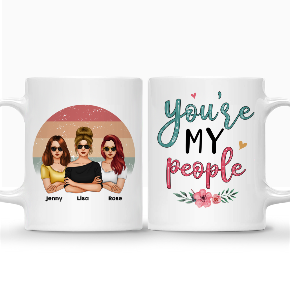 Personalized Mug - Friends - You're My People (V3)_5