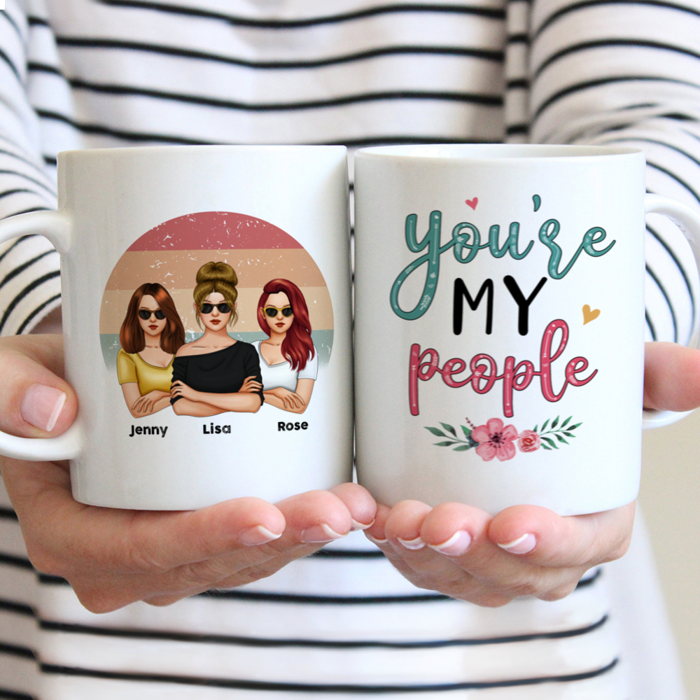Personalized Mug - Friends - You're My People (V3)_2