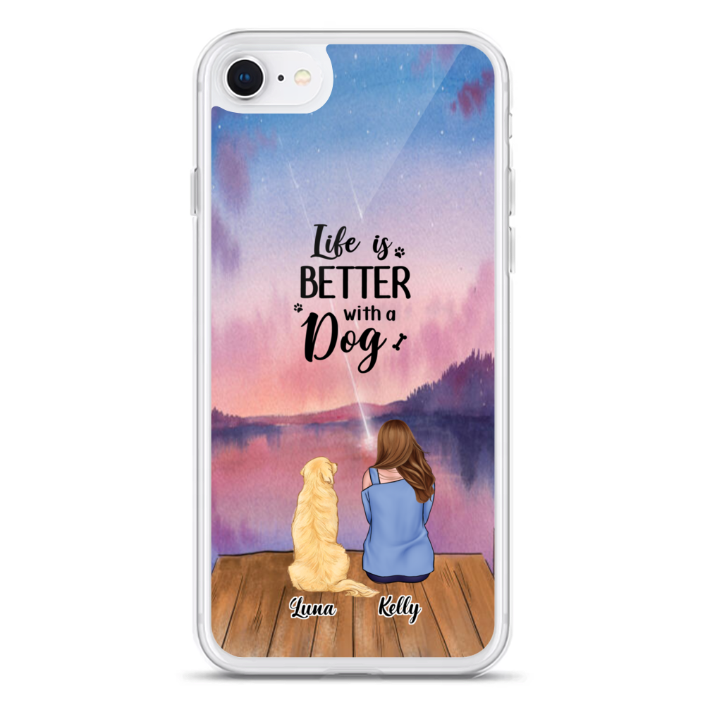 Girl and Dogs - Life Is Better With A Dog_4