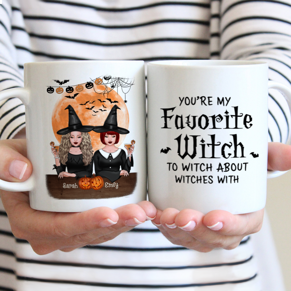Personalized Mug - Halloween Party - You're My Favorite Witch To Witch About Witches With