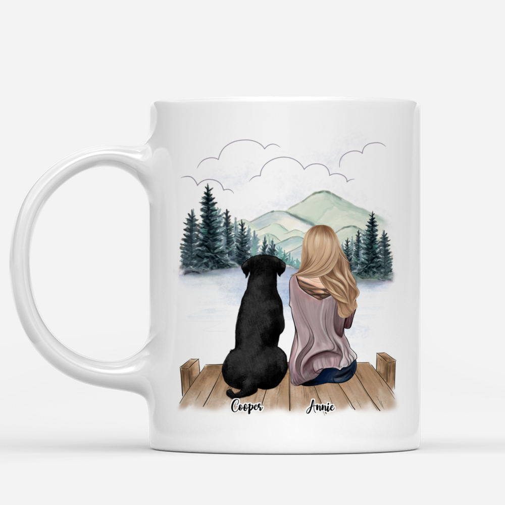 Personalized Mugs For Girl and Dogs - Life Is Better With Dogs_1