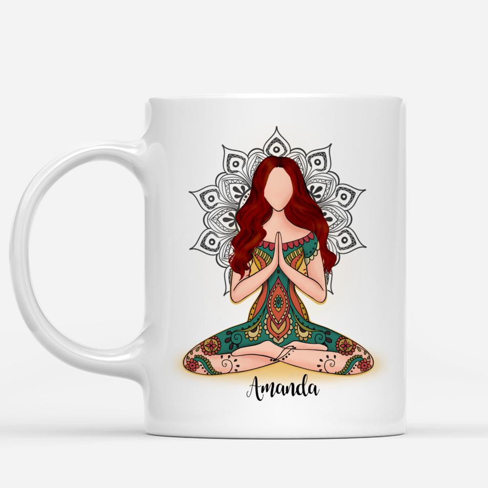 Personalized Mug - Funny Mug - I'm Mostly Peace Love & Light And A Little Go F Yourself v2_1