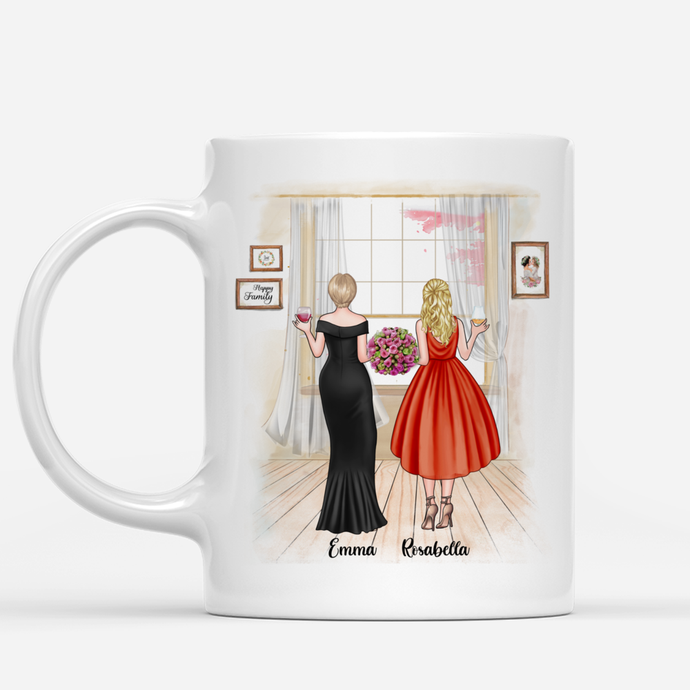 Personalized Mug - Mother & Daughter - You Gave Me Your Amazing Son_1