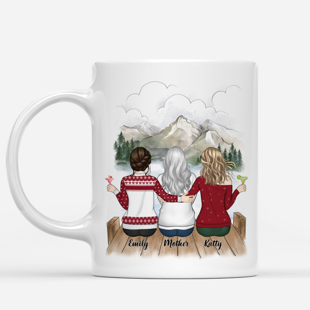 Personalized Mug - Mother and Daughter - Life is better with Daughters (3215)_1