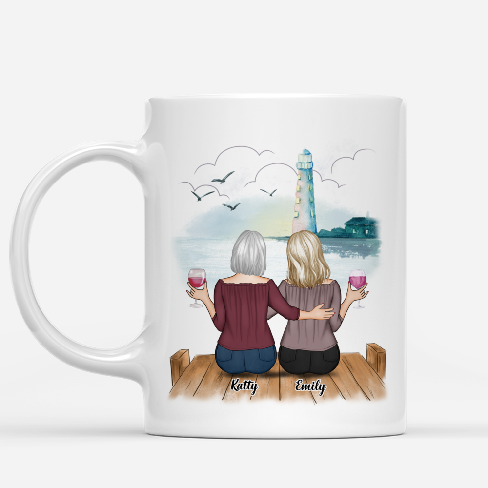 Personalized Mug - Up to 5 Women - We'll Always Be Best Friends, Because You Know Too Much_1