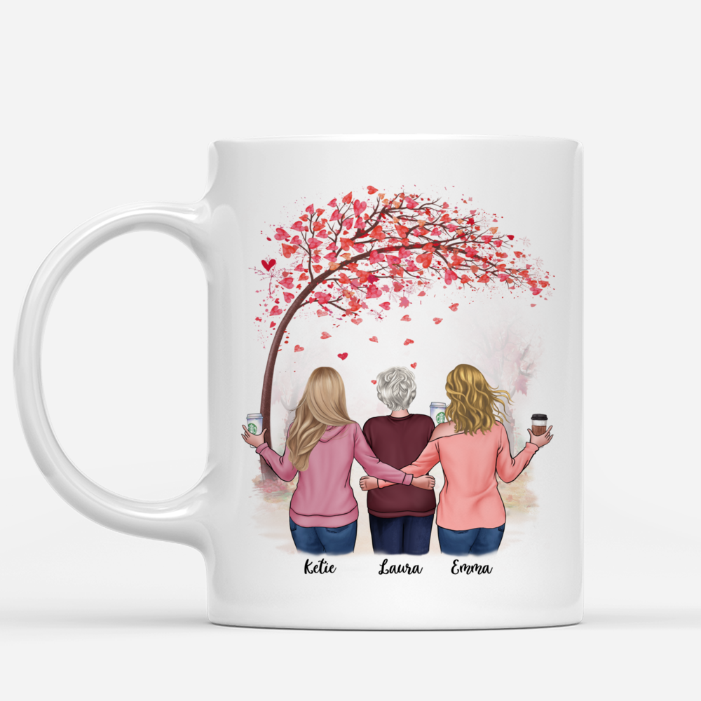 Personalized Mug - Daughter and Mother - Like Mother like Daughters - Love 2_1