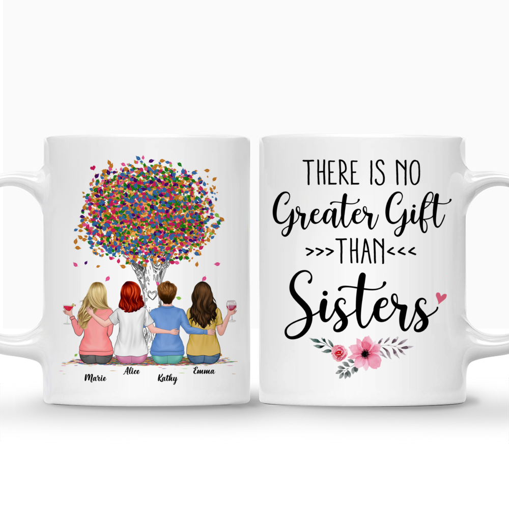 Personalized Mug - There Is No Greater Gift Than Sisters (Ver 2) (3984)_3