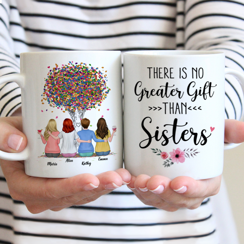 Personalized Mug - There Is No Greater Gift Than Sisters (Ver 2) (3984)