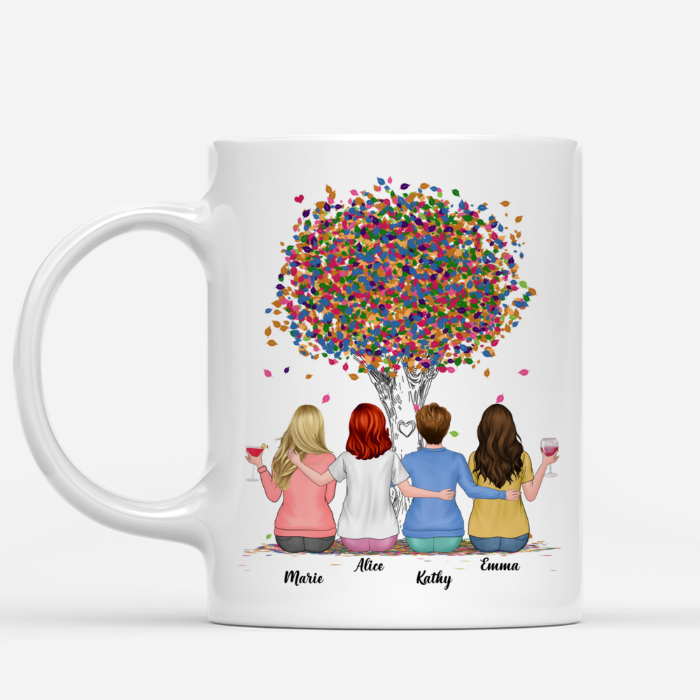 Personalized Mug - Up to 6 Sisters - Life is better with Sisters (Ver 2) (3984)_1