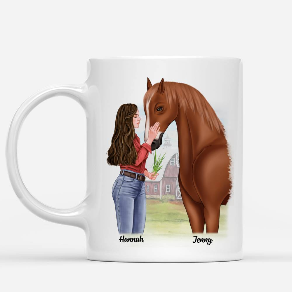 Personalized Mug - Horse Lovers - You are my happy place_1