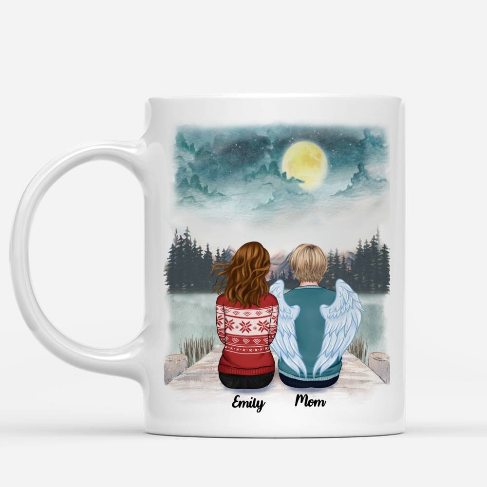 Personalized Mug - Memorial Mug - Moon - Miss You To The Moon And Back_1