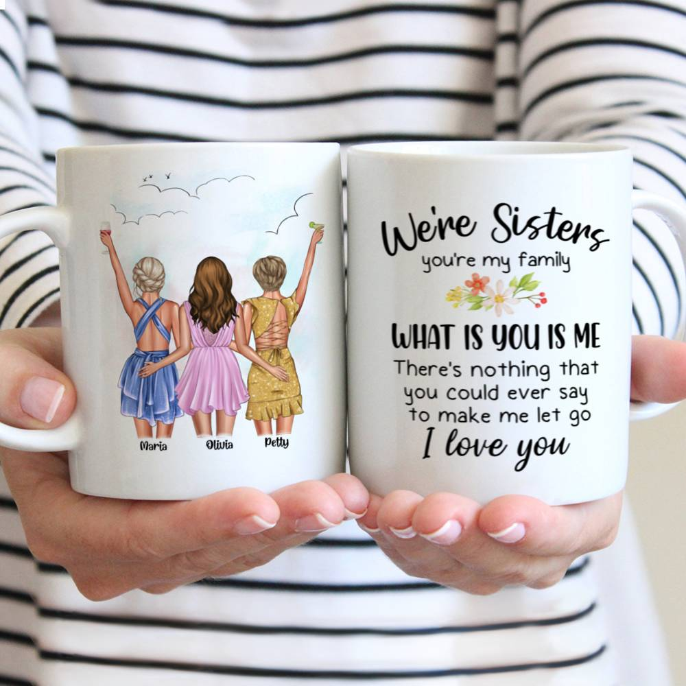 Personalized Mug - Best friends - Up to 5 girls - You've  got a  friend  in me (6490)_3