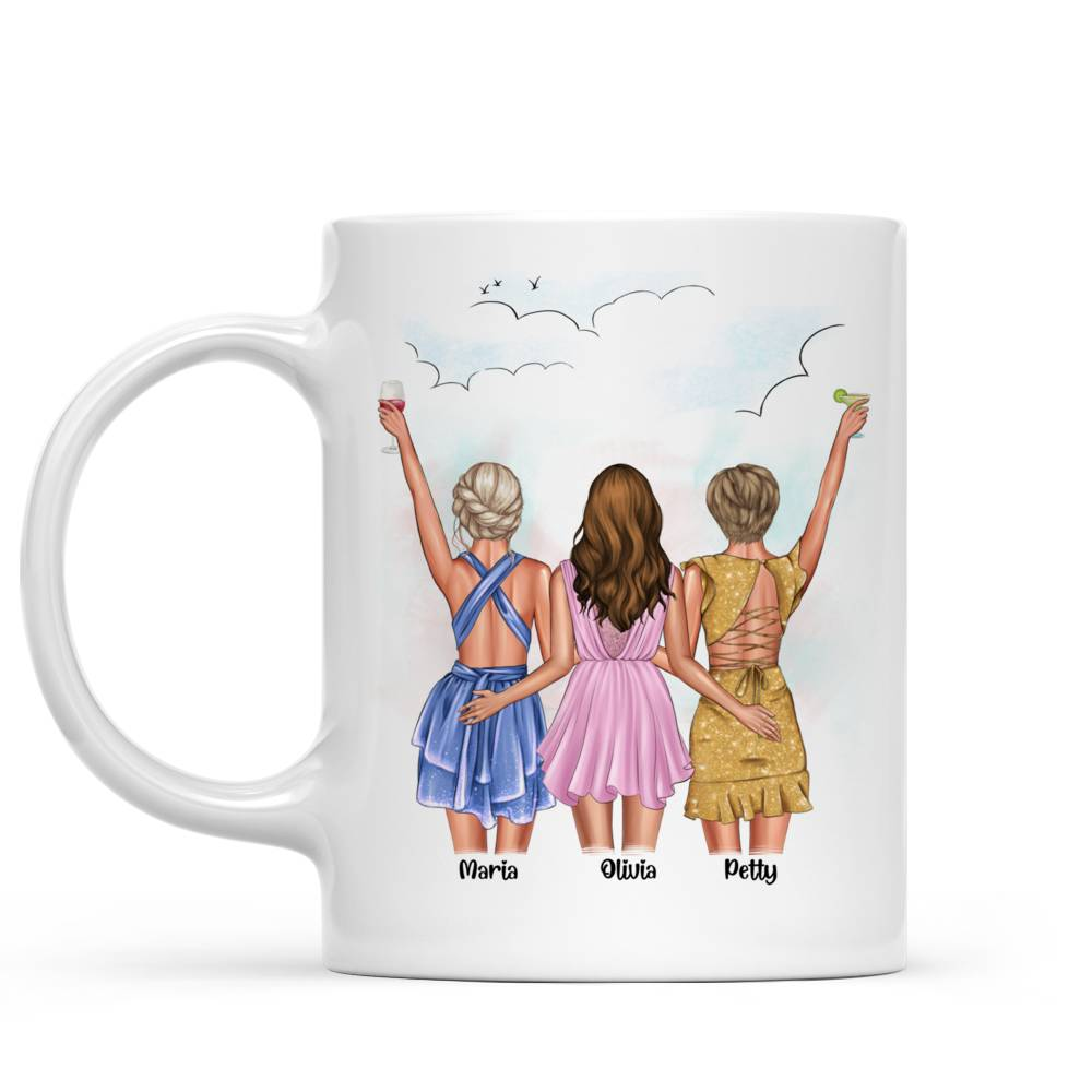 Personalized Mug - Best friends - Up to 5 girls - You've  got a  friend  in me (6490)_4