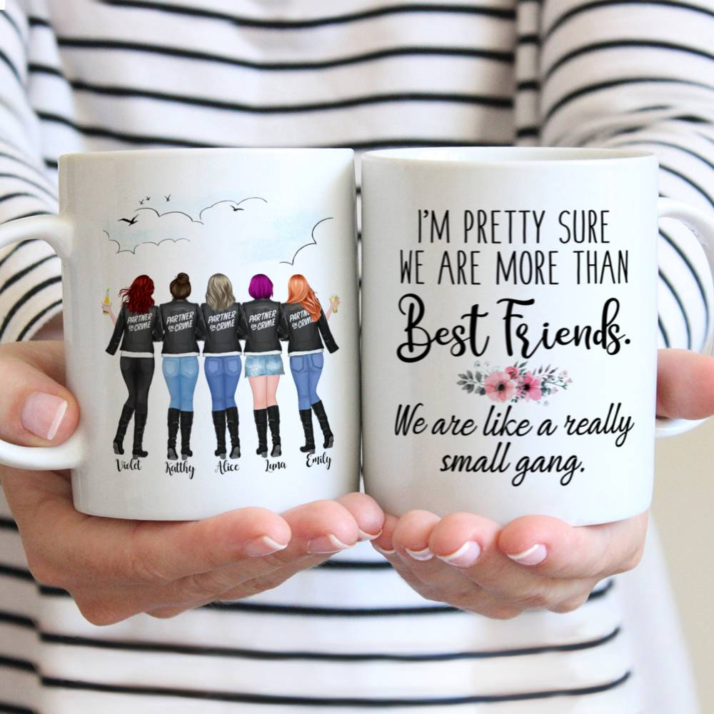 Personalized Best Friend Mug - I'm Pretty Sure We're More Than Best Friends...
