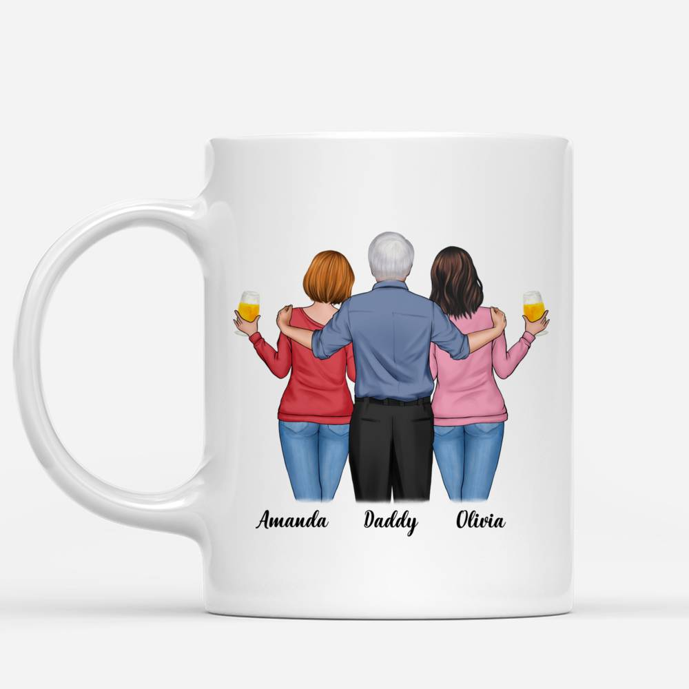 Personalized Mug - Father & Daughters - Happy Father's Day!_1