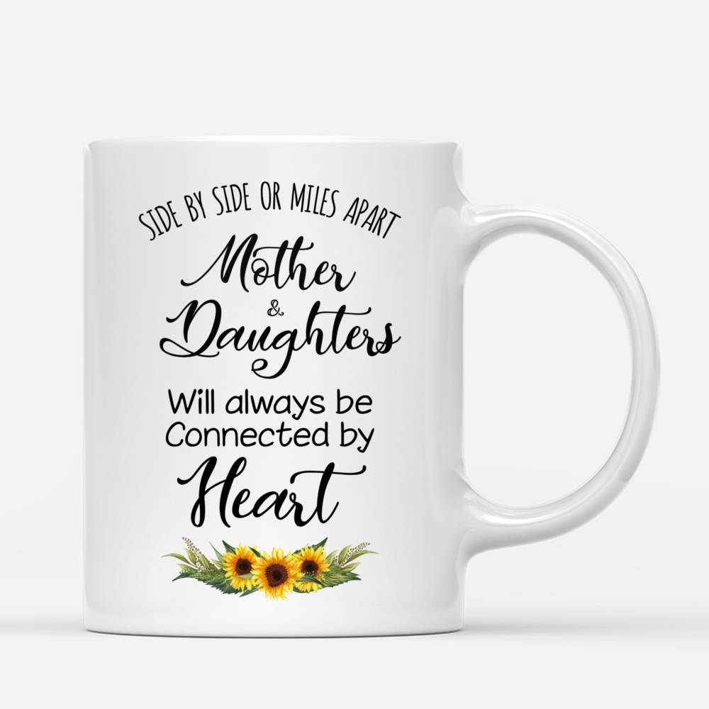 Mother and Daughters will always be connected by heart - Sunflower- - Red_2
