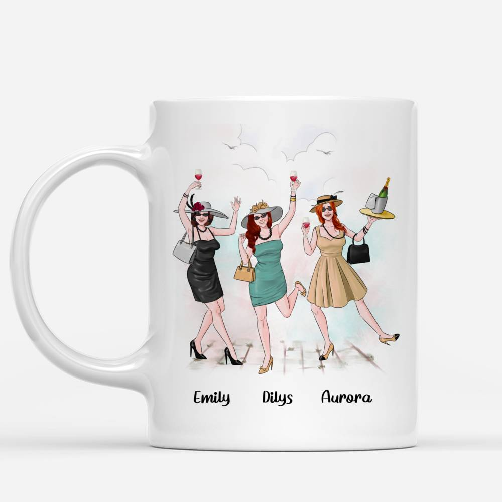 Personalized Mug - Friends - No One Will Ever Be As Entertained by Us As Us_1
