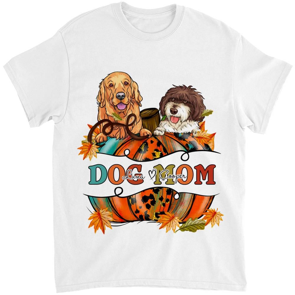 Personalized Shirt - Dogs - Dogs Mom_1