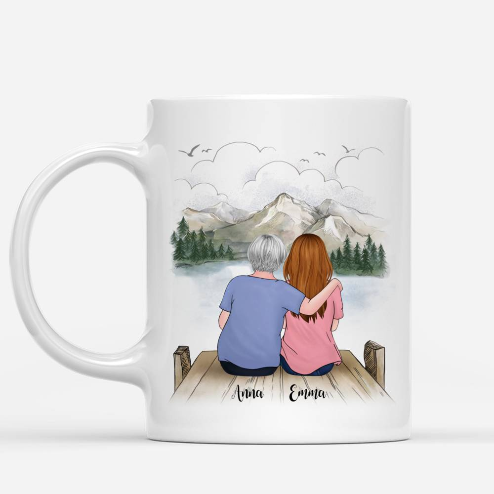 Personalized Mug - Family - The Love Between Mother And Daughter Is Forever_1