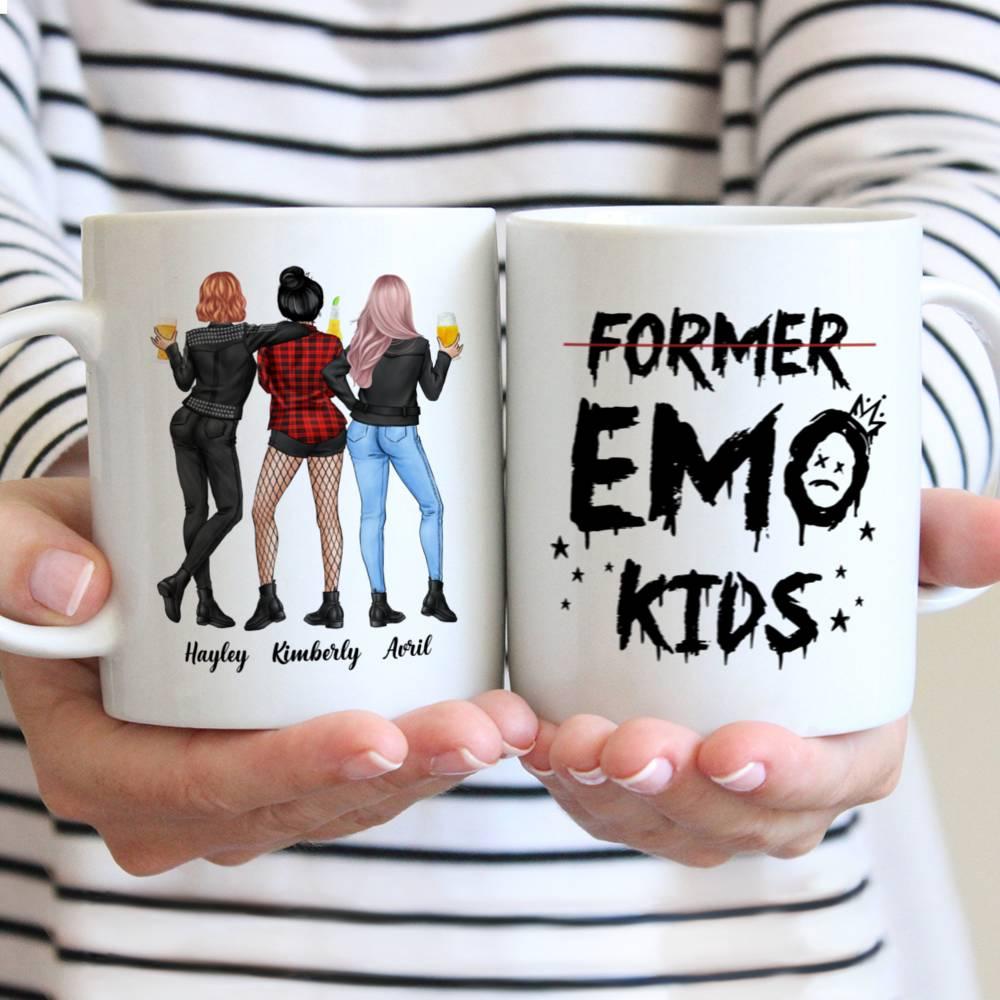 Personalized Mug - Rock Chicks - Former Emo Kids - Up to 4 Ladies (2)