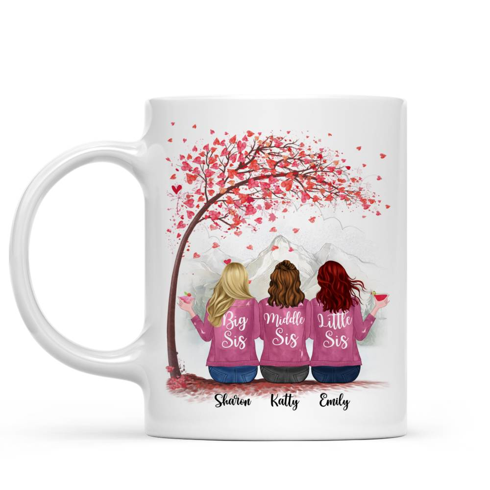 Personalized Mug - There Is No Greater Gift Than Sisters (Ver 2) (5726)_1