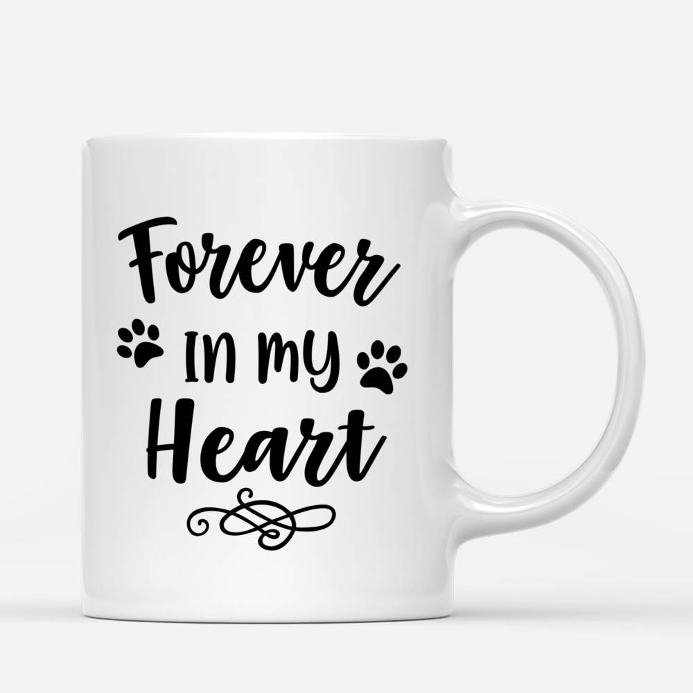 Personalized Mug - Beach Girl And Her Dog - Forever In My Heart_2