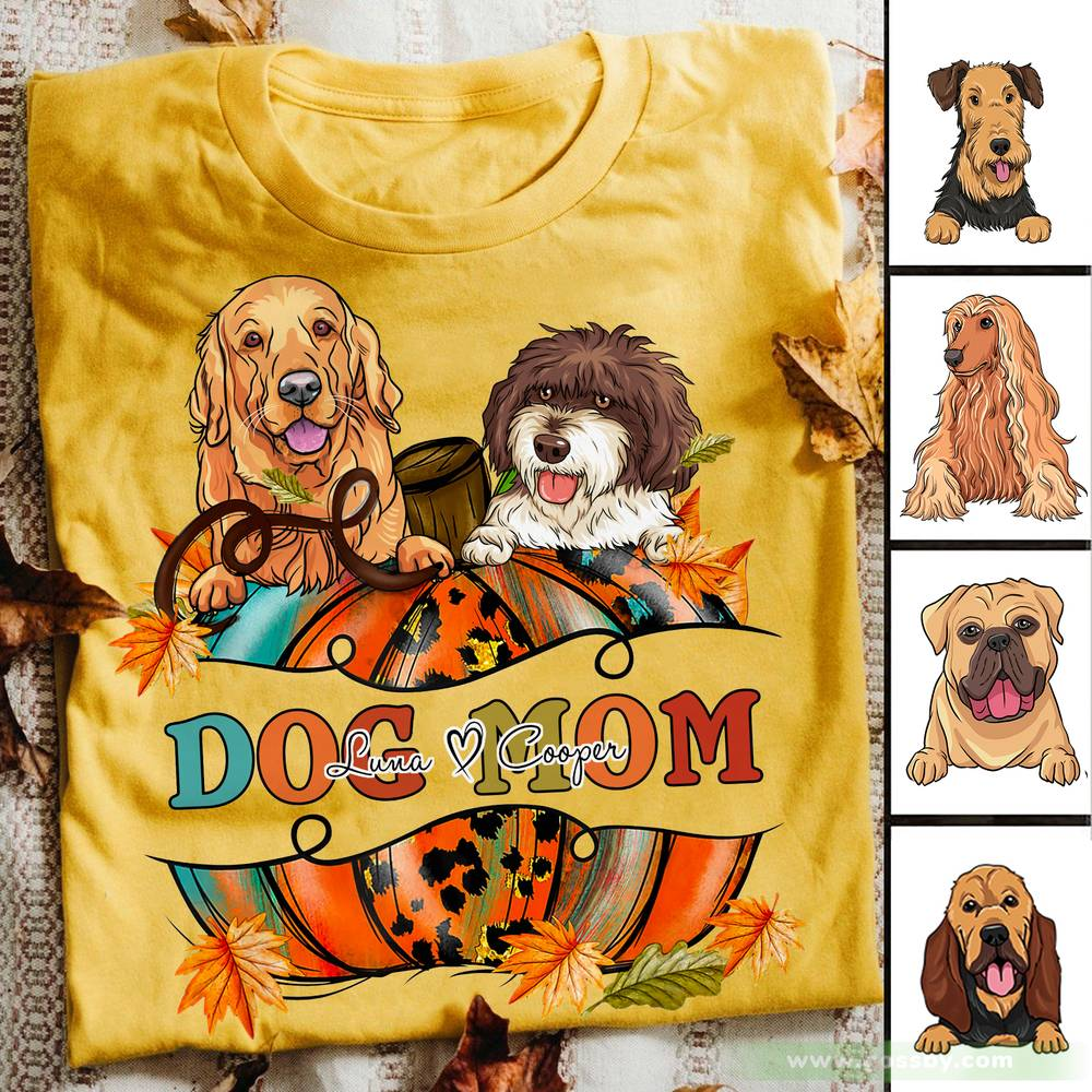 Personalized Shirt - Dogs - Dogs Mom