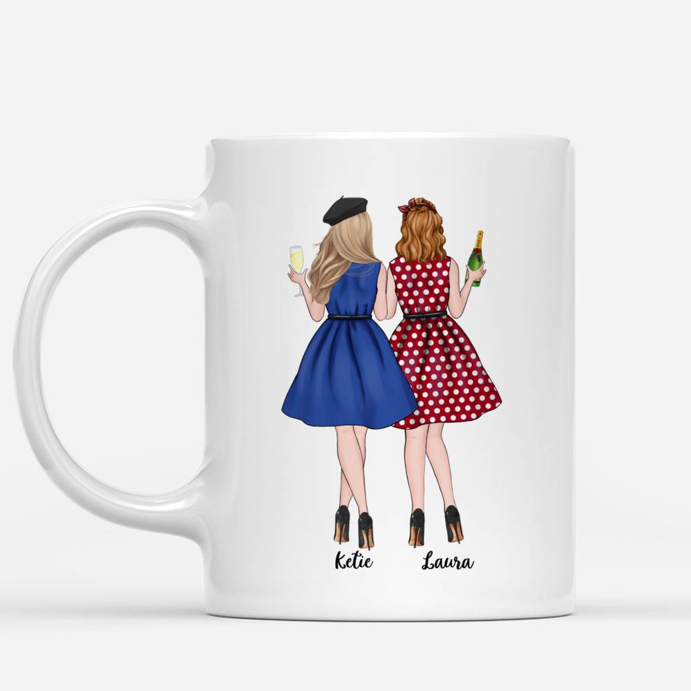 Personalized Mug - Best friends - To my bestie, If I could give you one thing in life..._1