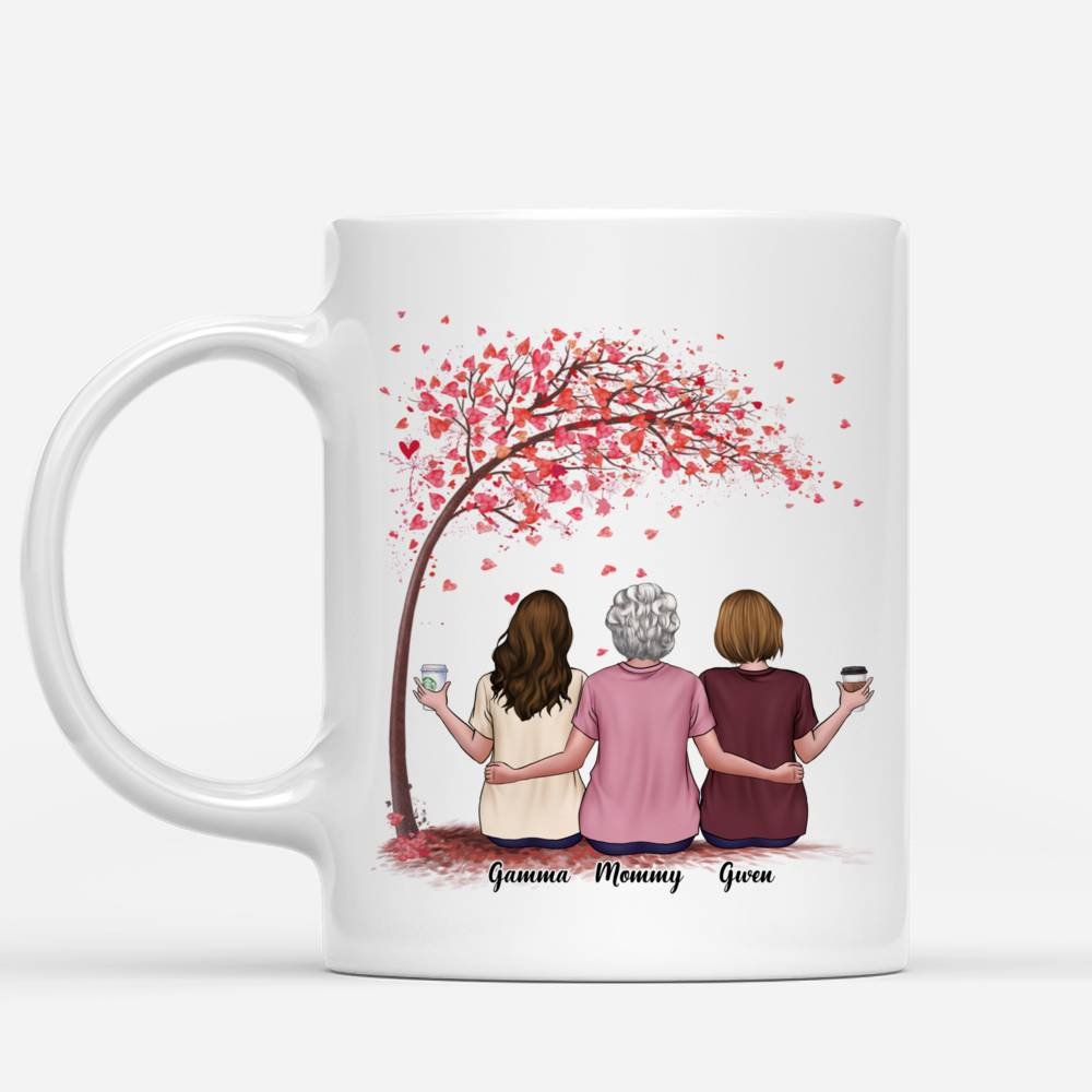 Personalized Mug - Mother & Daughter - The Love Between A Mother And Daughters Is Forever - Love_1