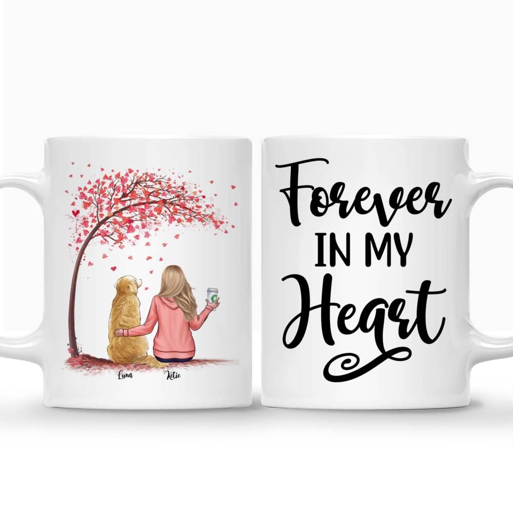 Personalized Mug - Forever In My Heart Custom Mug (Love Version)_3