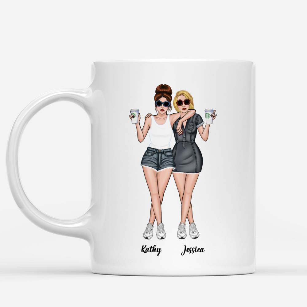 Personalized Mug - Jeans Best Friends - Youre the SHE to my NANIGANS_1