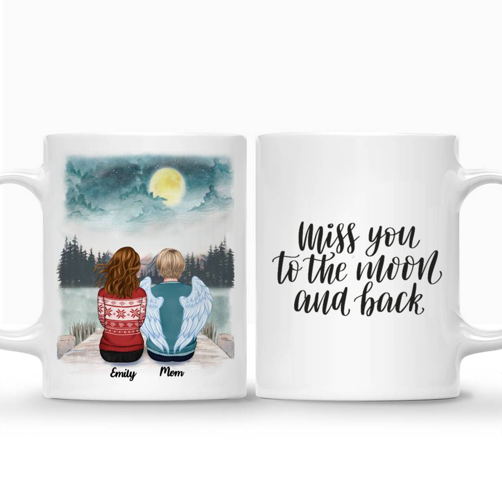 Personalized Mug - Memorial Mug - Moon - Miss You To The Moon And Back_3