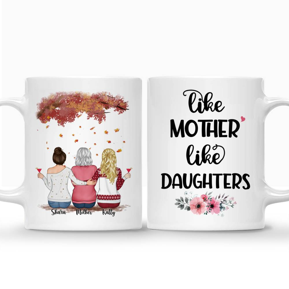 Personalized Mug - Mother and Daughter - Like Mother Like Daughters (3326)_3