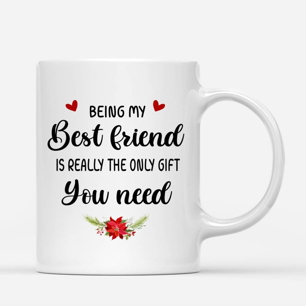 Personalized Mug - The Greatest Gift - Being My Best Friend Is Really The Only Gift You Need (2)_2