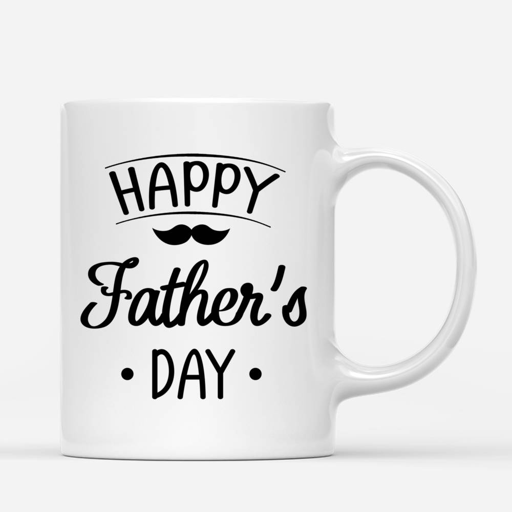 Personalized Mug - Father & Daughters - Happy Father's Day!_2