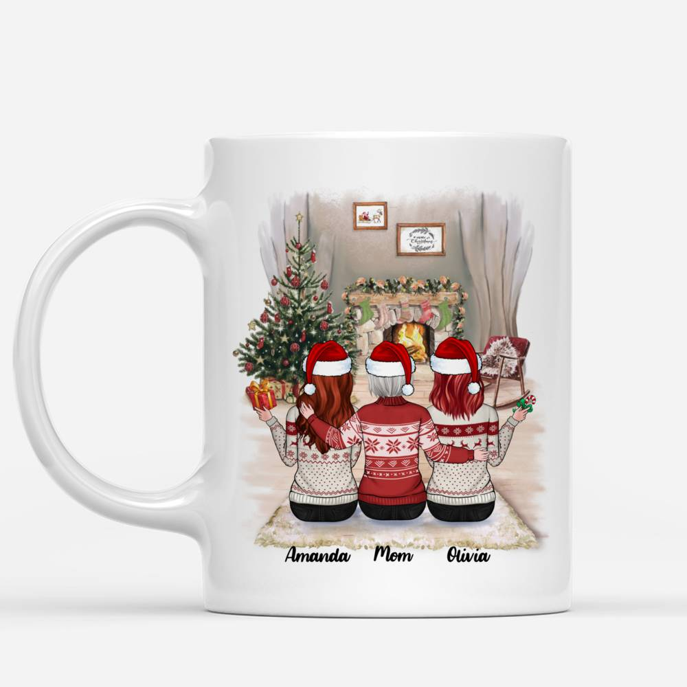 Personalized Mug - Mother & Daughter Xmas - Like Mother Like Daughters_1