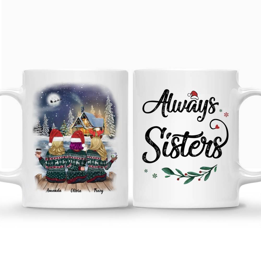 Personalized Mug - Xmas Country Night Mug - Always Sisters_3