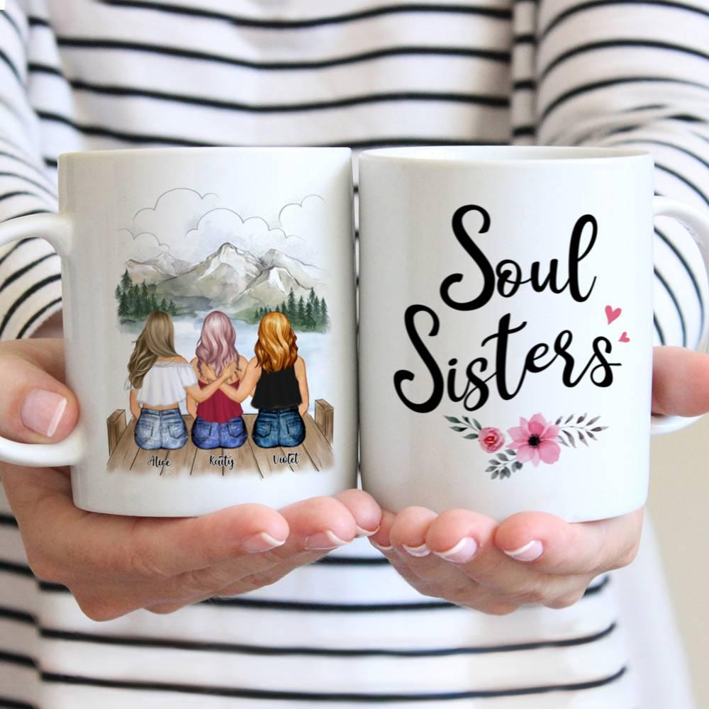 Personalized Mug - Summer Sisters - Soul Sisters