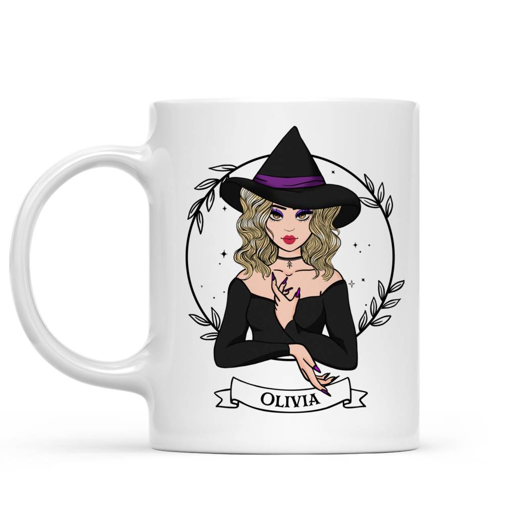 Witch Life - Personalized  Mug - I'm Not Sugar And Spice And Everything Nice_1