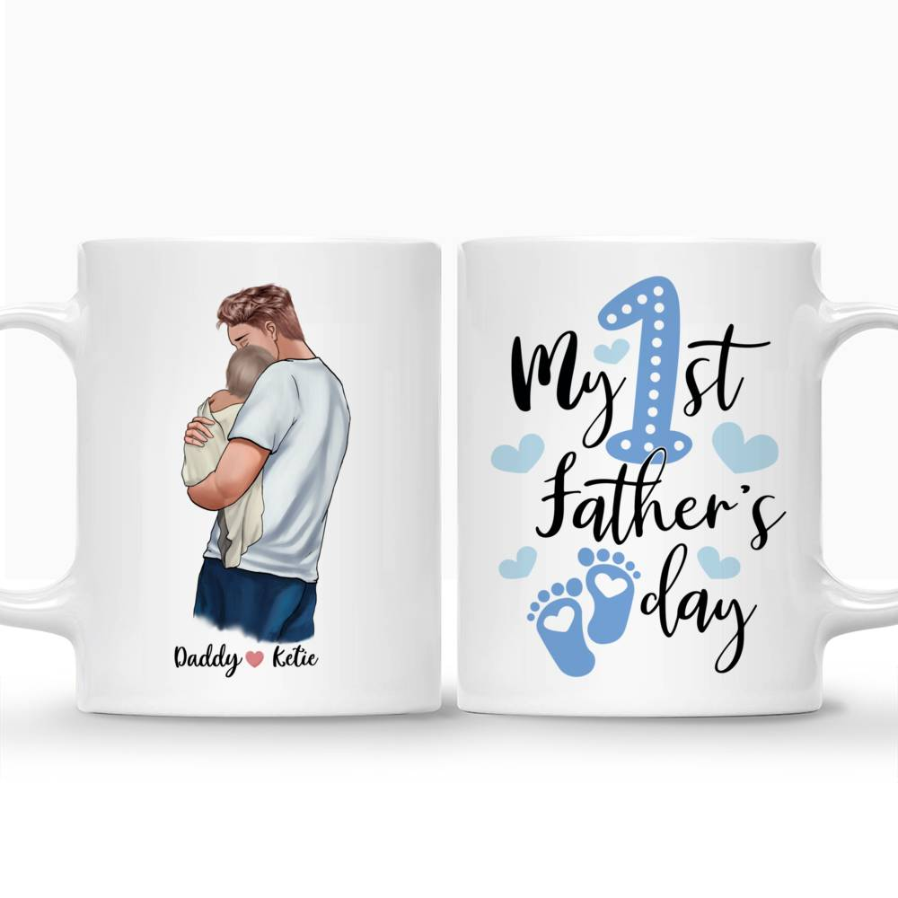 Personalized Mug - Family - My 1st Father day - New_3