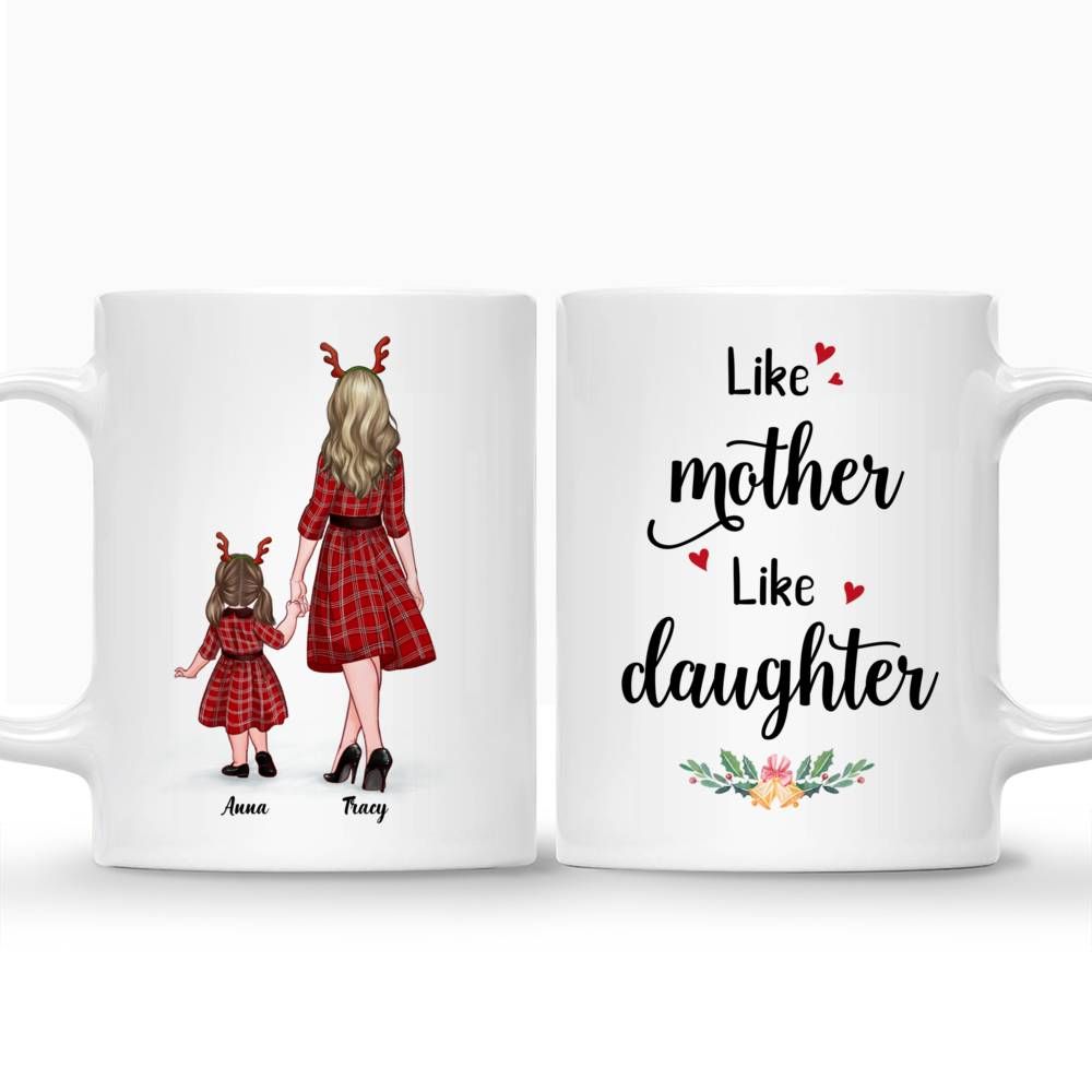Personalized Mug - Mother and Kid Daughter - Like Mother - Like Daughter_3