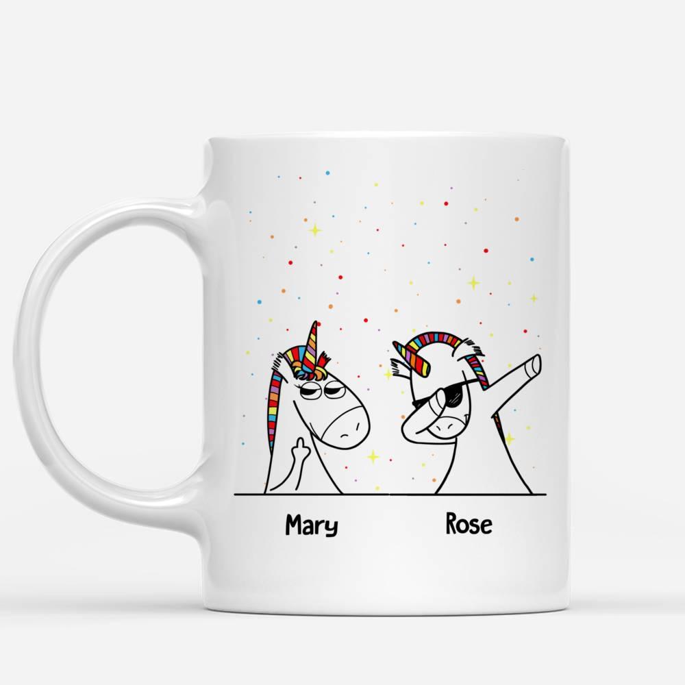 Personalized Mug - Unicorn Friends - Shuh Duh Fuh Cup_1