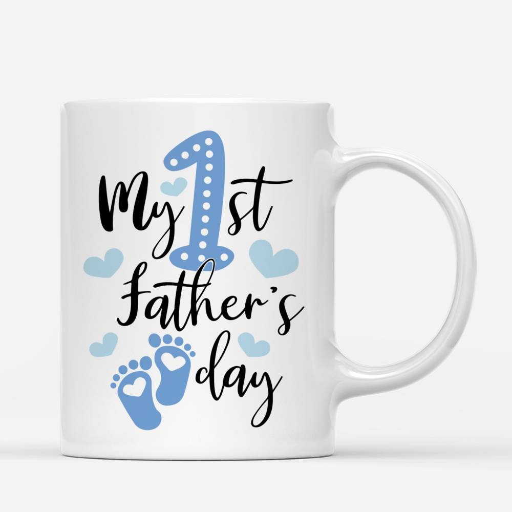 Personalized Mug - Family - My 1st Father day - New_2