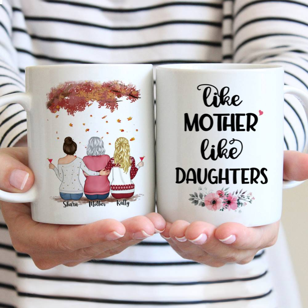 Personalized Mug - Mother and Daughter - Like Mother Like Daughters (3326)
