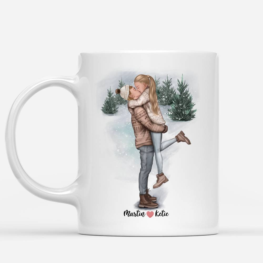 Personalized Mug - Couple - The Best Place In The World Is Inside Your Hug_1