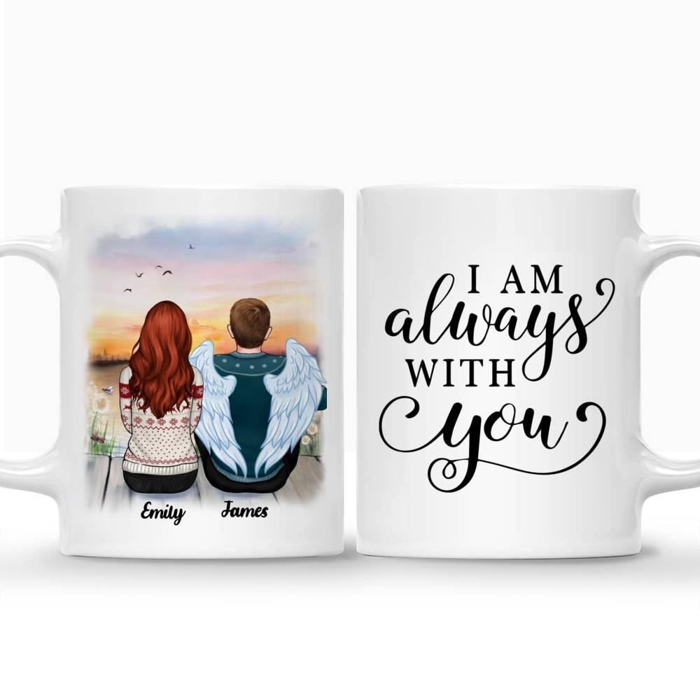 Personalized Mug - Memorial Mug - Sunset - I am always with you_3