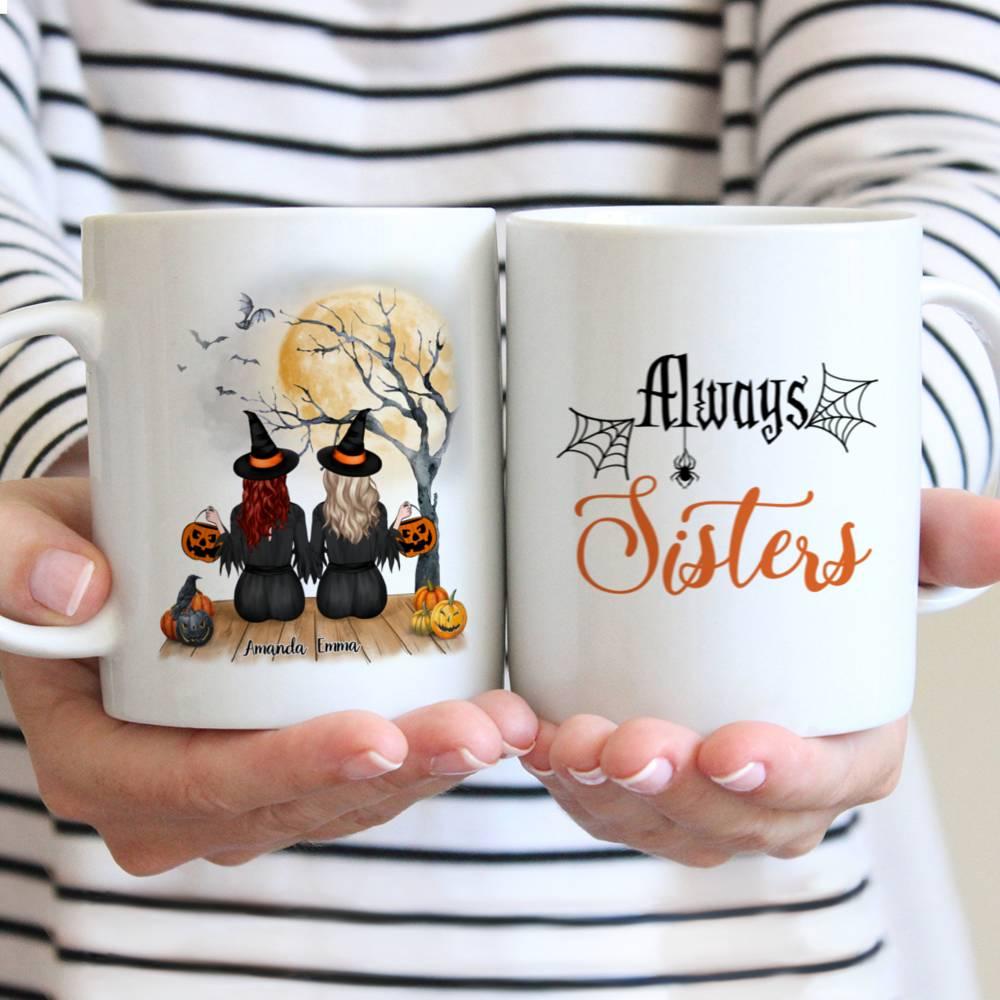 Personalized Witch Mug - Always Sister (N) Custom Mug   Gossby
