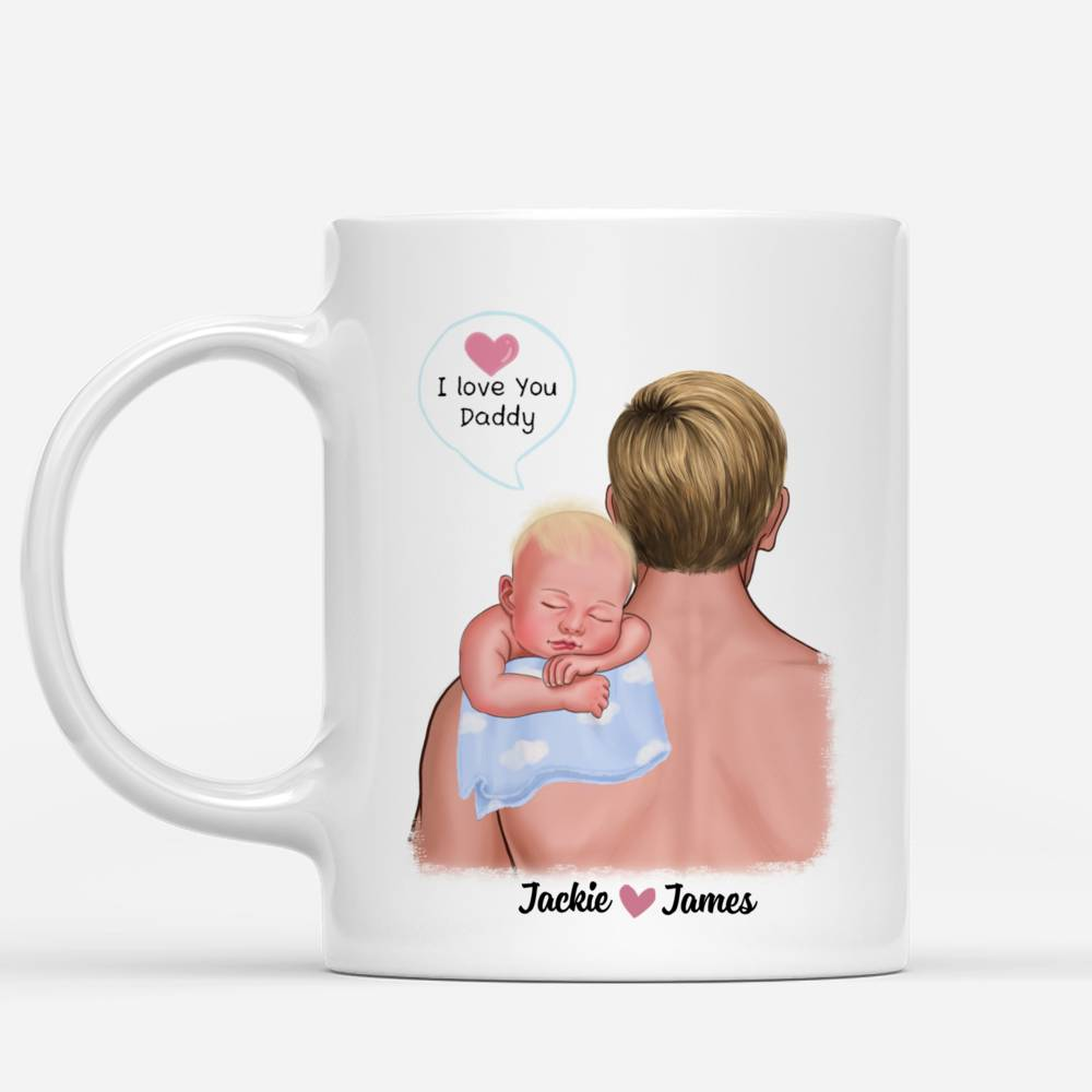 Personalized Mug - 1st Father's Day - The Love Between A Father & Son is Forever_1
